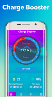 battery saver for android - 100% - náhled