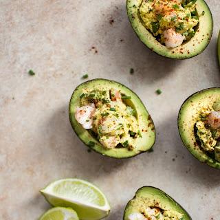 Healthy Shrimp Stuffed Avocado Recipe