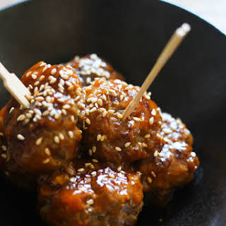 Sweet and Sour Meat Balls.