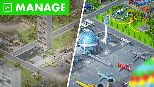 Airport City Mod Apk (Free Shopping) 7.24.17 6