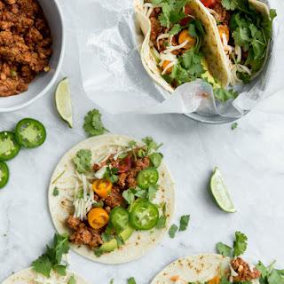 Amazing Slow Cooker Turkey Tacos.