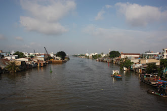Photo: Year 2 Day 29 - River View as We Left Saigon #2