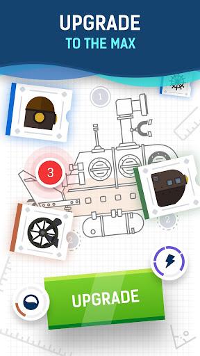Idle Submarine: Crafting Journey  screenshots 2