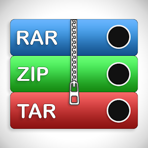 Rar Archive Rar Unarchive Zip File Extractor 1.3.3 by Oaksed Technologies logo
