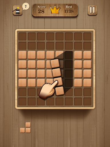 Wood Block Puzzle - Wooden Game 1.2 screenshots 5