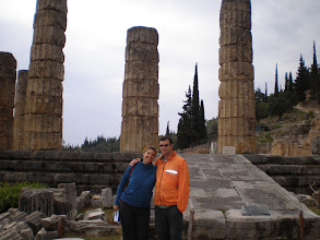 Photo: Mick and Suzanne and Delphi