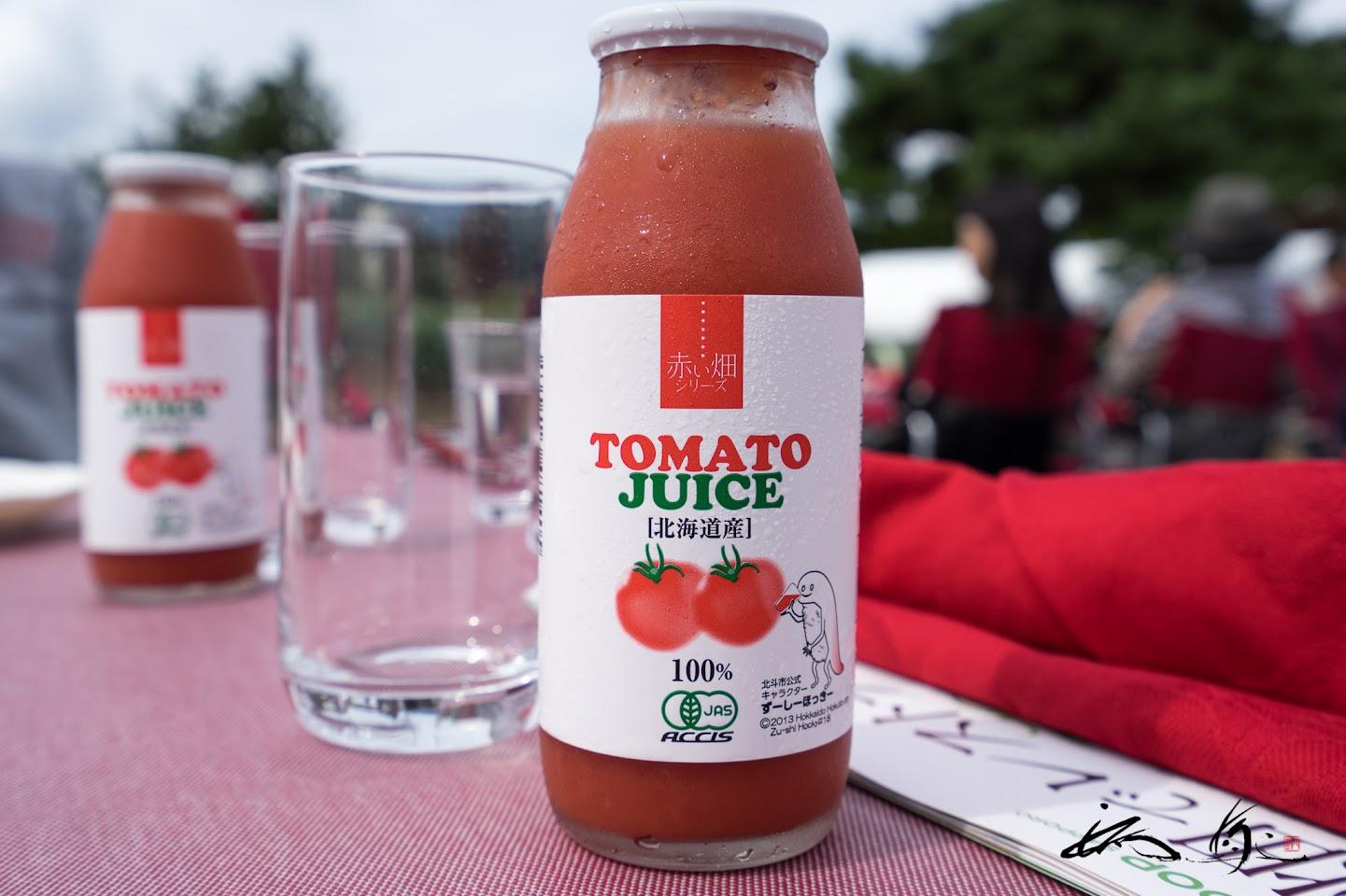 お土産のトマトジュース「アイコ」