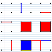 Dots and Boxes - Squares (Classic Board Games)
