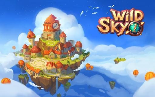 Wild Sky TD: Tower Defense Legends in Sky Kingdom screenshots 8