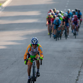 Breakaway by Bert Templeton - Sports & Fitness Cycling ( specialized, dallas, cyclist, racing, frisco, race, richardson, pinarello, breakaway, cycling, texas, professional, mckinney, trek, crit, road, criterium, cannondale, plano,  )