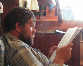 Photo: Глеб читает лоцию / Gleb is reading the pilot book for Azores