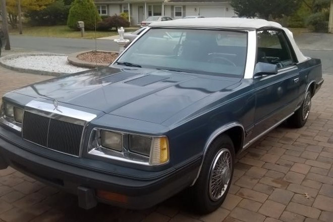 1986 Chrysler LeBaron Hire NJ
