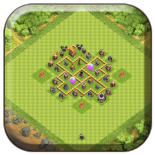 town hall 5 farming base maps apps on google play
