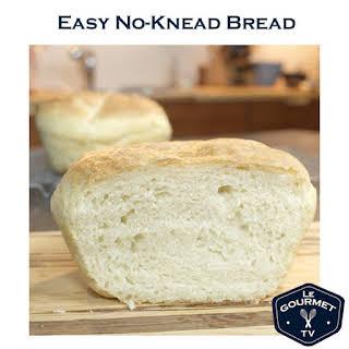 Easy No-Knead Bread.