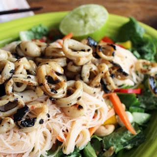 Thai Calamari Salad