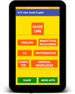 New NTS Clerk Guide English Latest:MCQs & GKLatest for PC-Windows 7,8,10 and Mac apk screenshot 11