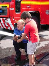 Photo: At Leatherhead Fire Station