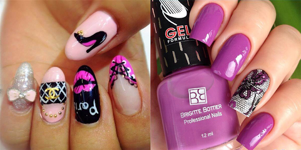 Stylish nail art designs android apps on google play stylish nail art designs screenshot thumbnail prinsesfo Images