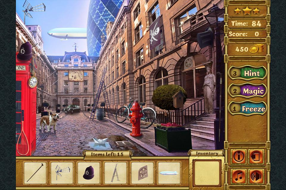 Egyptian Curse Hidden Objects- screenshot