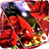 Red Rose Launcher Theme
