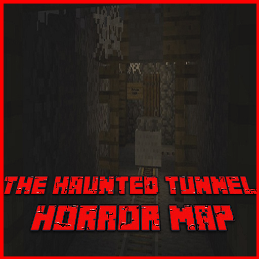 Map Horror The Haunted Tunnel for McPE