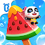 دانلود بازی Little Panda's Summer: Ice Cream Bars اندروید