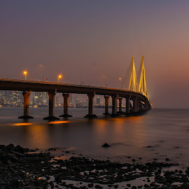 Sealink at dusk by Hariharan Venkatakrishnan - City,  Street & Park  Vistas