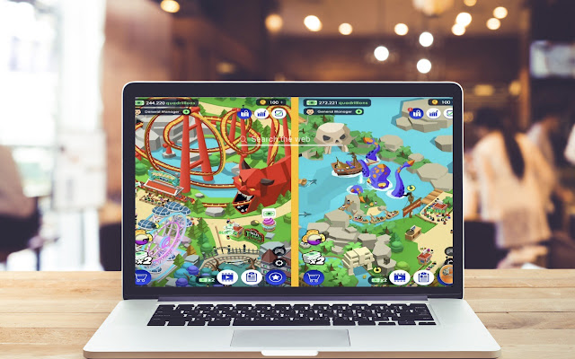 Idle Theme Park HD Wallpapers Game Theme