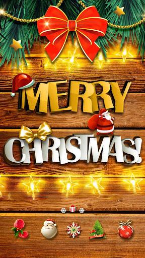 Merry Christmas Go Launcher Theme screenshot 2
