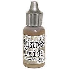 Tim Holtz Distress Oxide Ink Reinker 14ml - Frayed Burlap