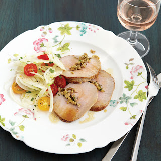 Chilled Veal Roast with Herbes de Provence and Fennel Salad