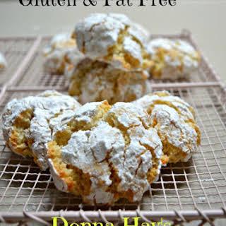 Lemon Crackle Cookies.