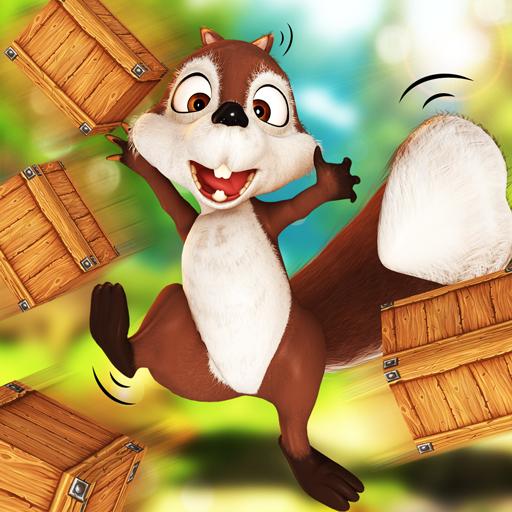 Squirrel Bricks Game: Smash it Icon