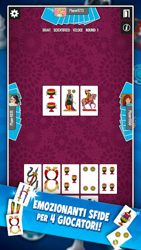 Scopone Piu00f9 - Giochi di Carte Social apkdebit screenshots 2