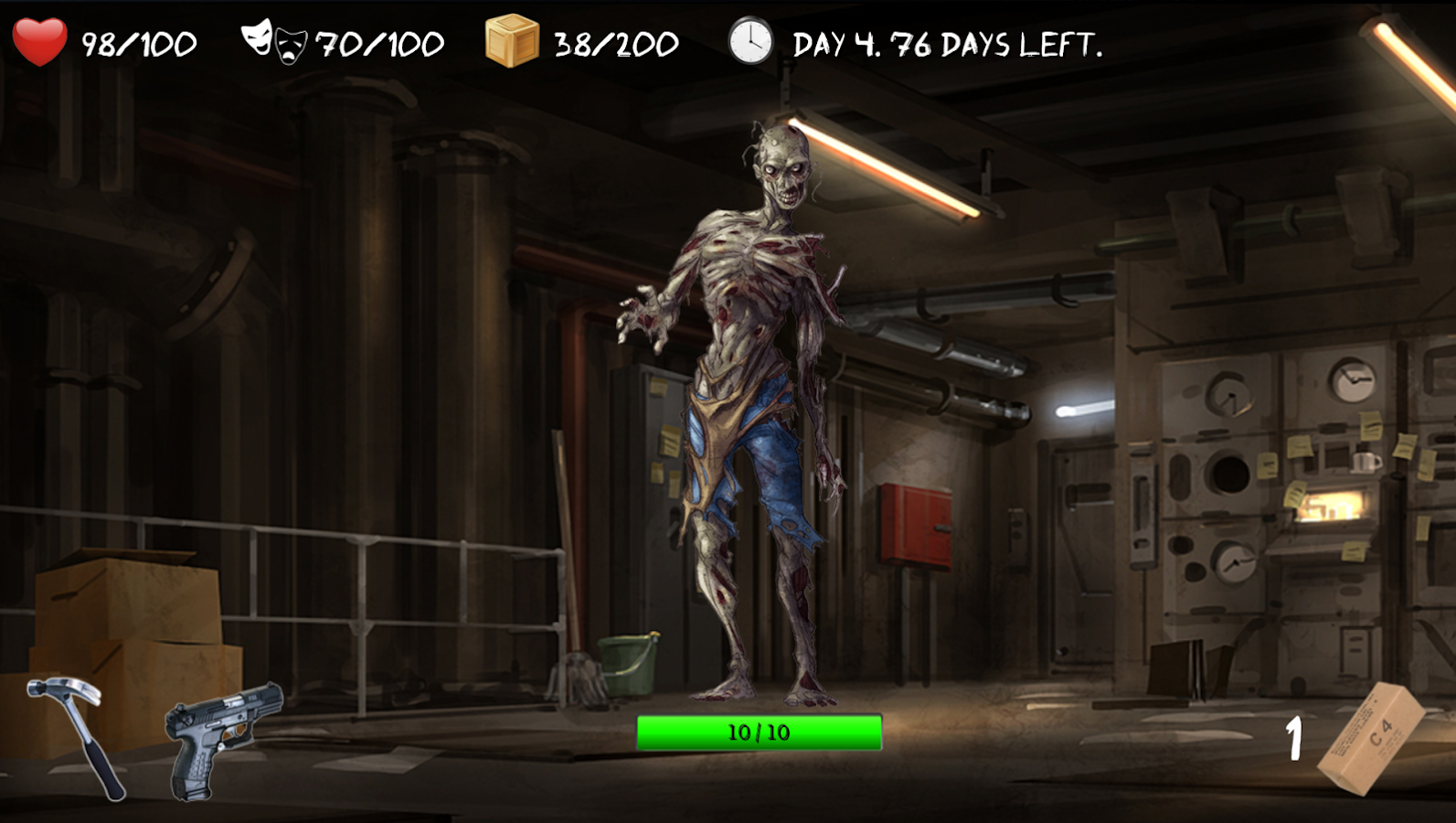 Overlive: A Zombie Survival Story and RPG- screenshot