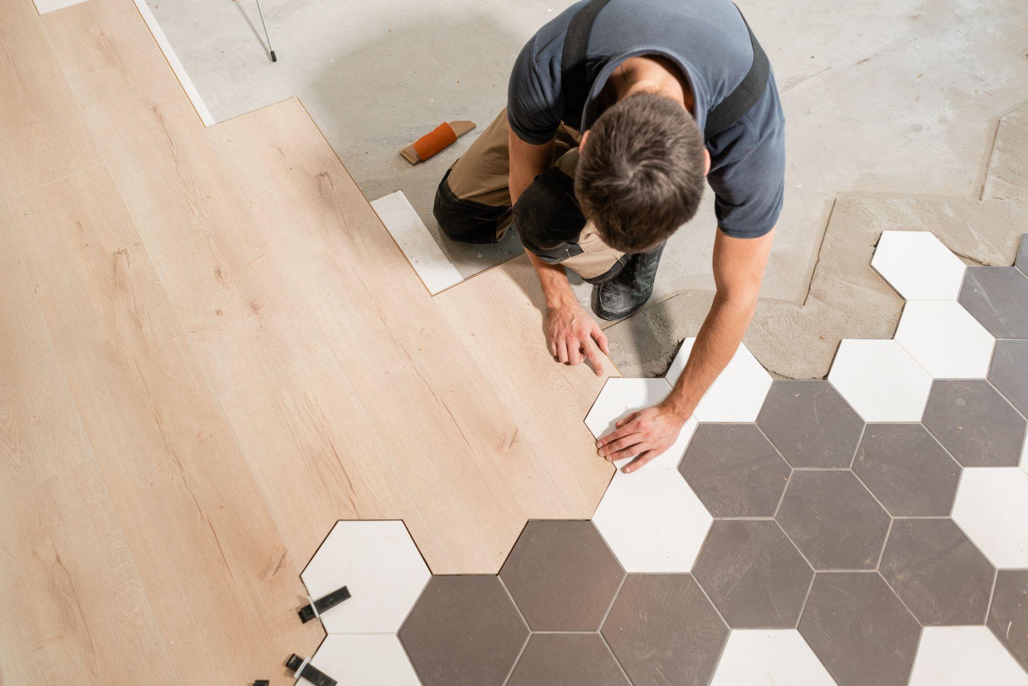 Combination floor