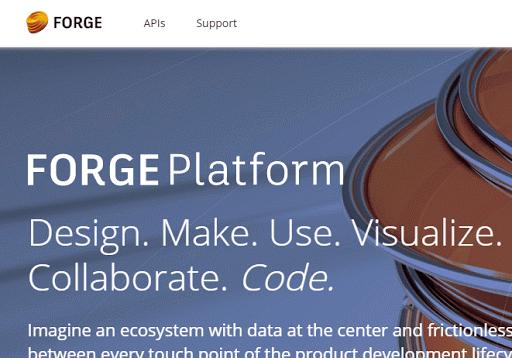 Autodesk - Forge Platform cover image