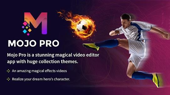 MojoPro – Magic Video Editor, VFX Effect 1