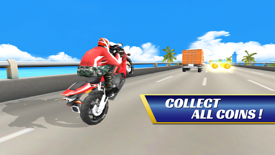 SUPER BIKE RACERS 3D screenshot 1