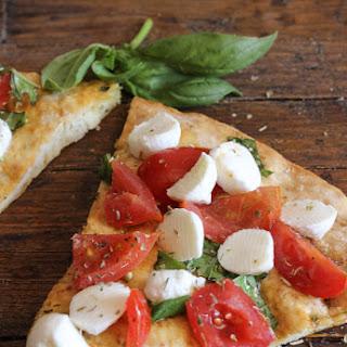 Easy No Yeast Pizza Caprese