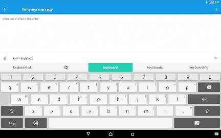 Xperia Keyboard Screenshot 4
