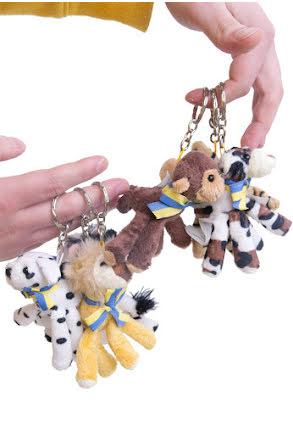 Nyckelring, djur