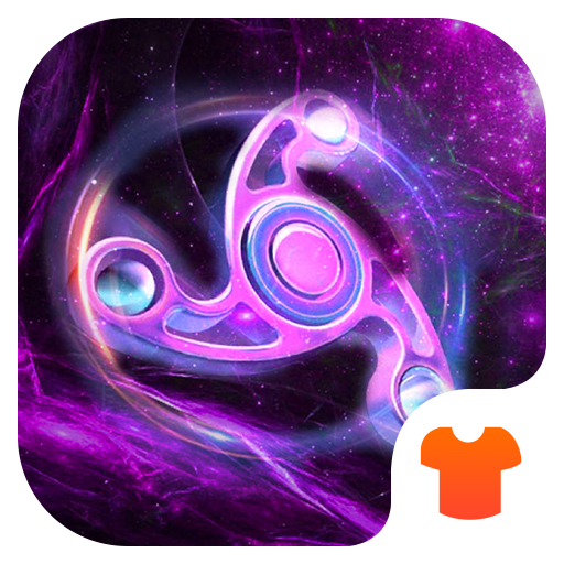 Fidget Spinner – 3D Space Theme 2018 New Icon