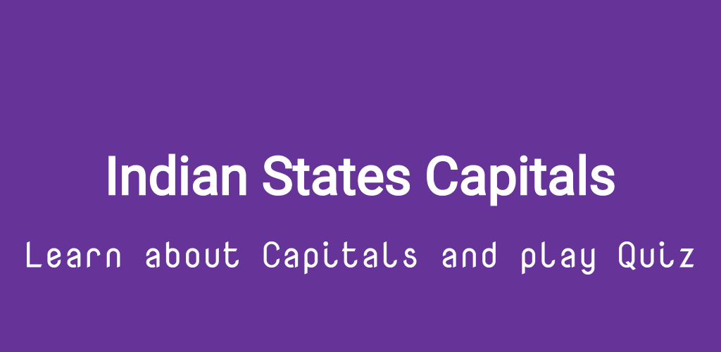 Capitals Of Indian States Quiz on