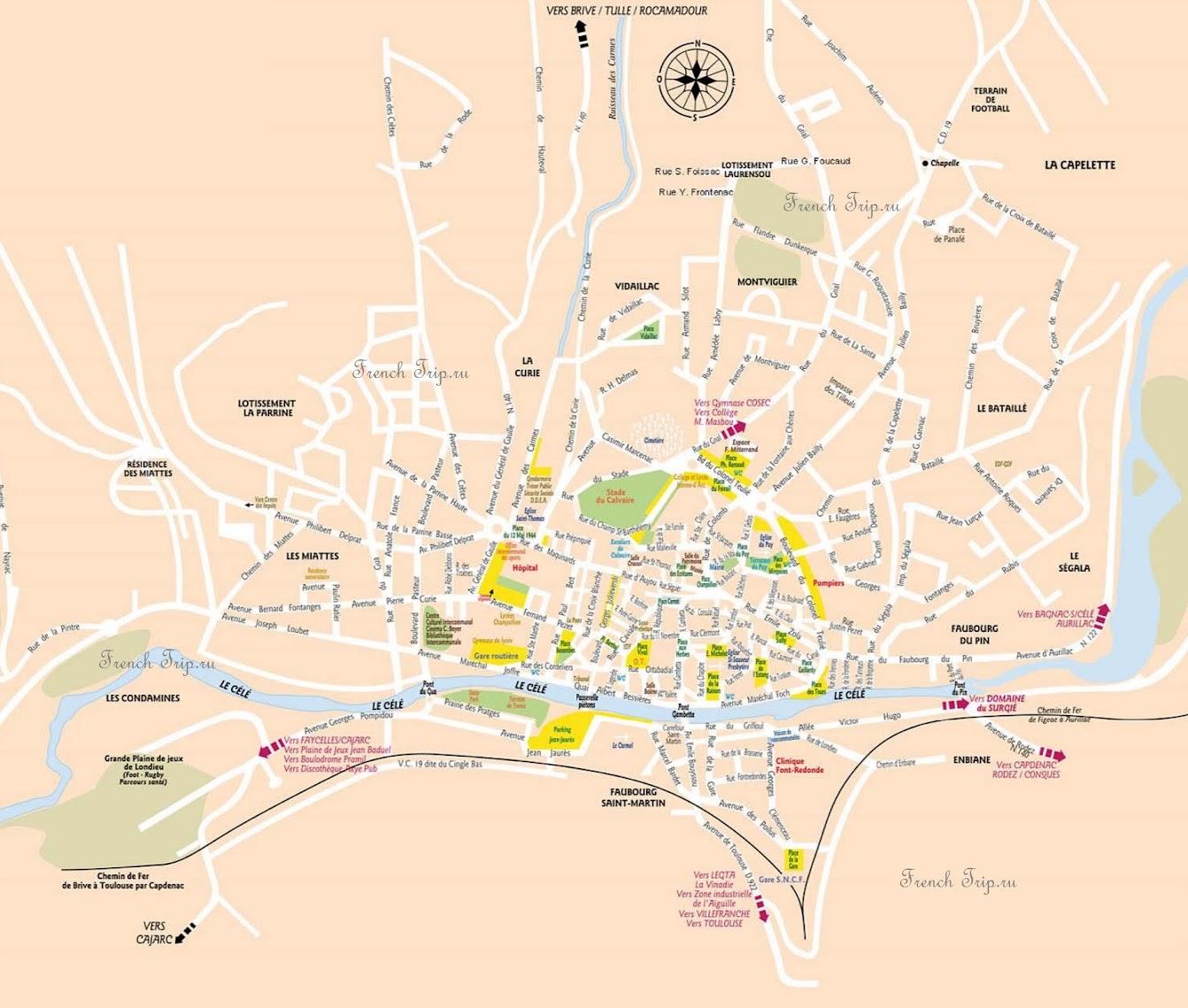 Парковки в Figeac /парковки в Фижаке - платные и бесплатные парковки, карта с парковками города Figeac, Миди-Пиренеи, Франция. Путеводитель по городу Figeac