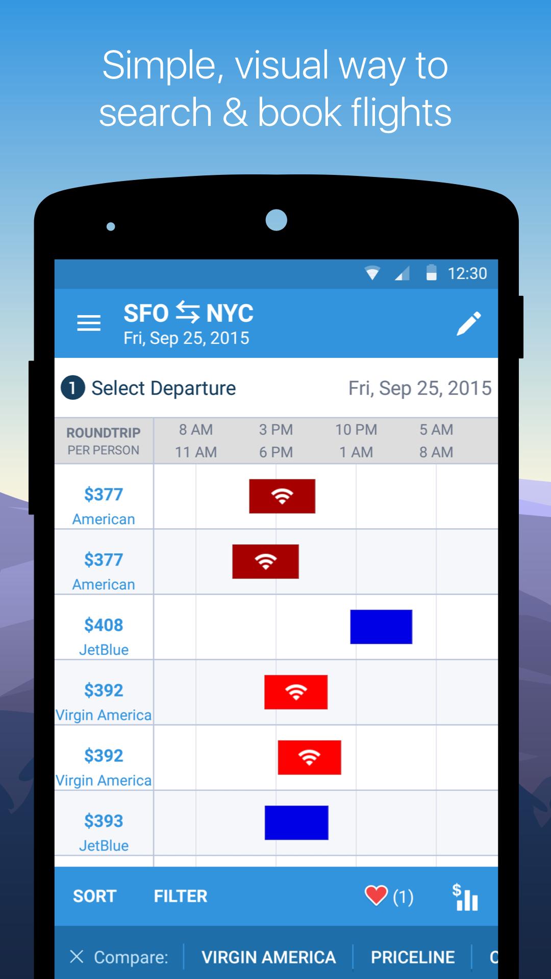 Hipmunk Hotels & Flights screenshot #4