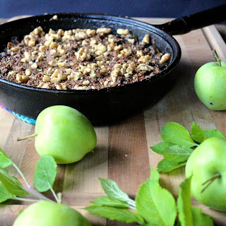 Brown Butter Pear & Apple Crisp