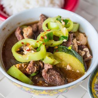 Pressure Cooker Korean Beef Stew (Beef Doenjang Jjigae)