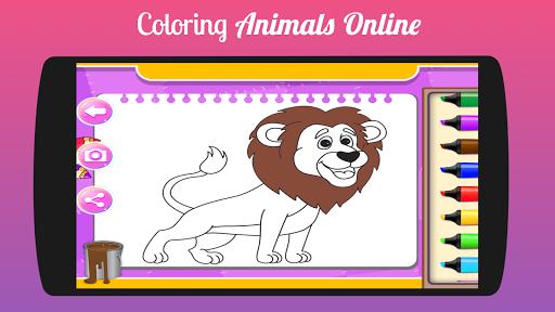 kids coloring book Fun Game 1.0 screenshots 2