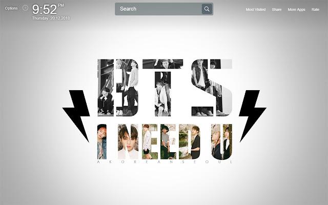 Best Bangtan Boys BTS Wallpapers New Tab